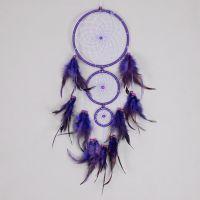 Lapač snů 15 cm fialový