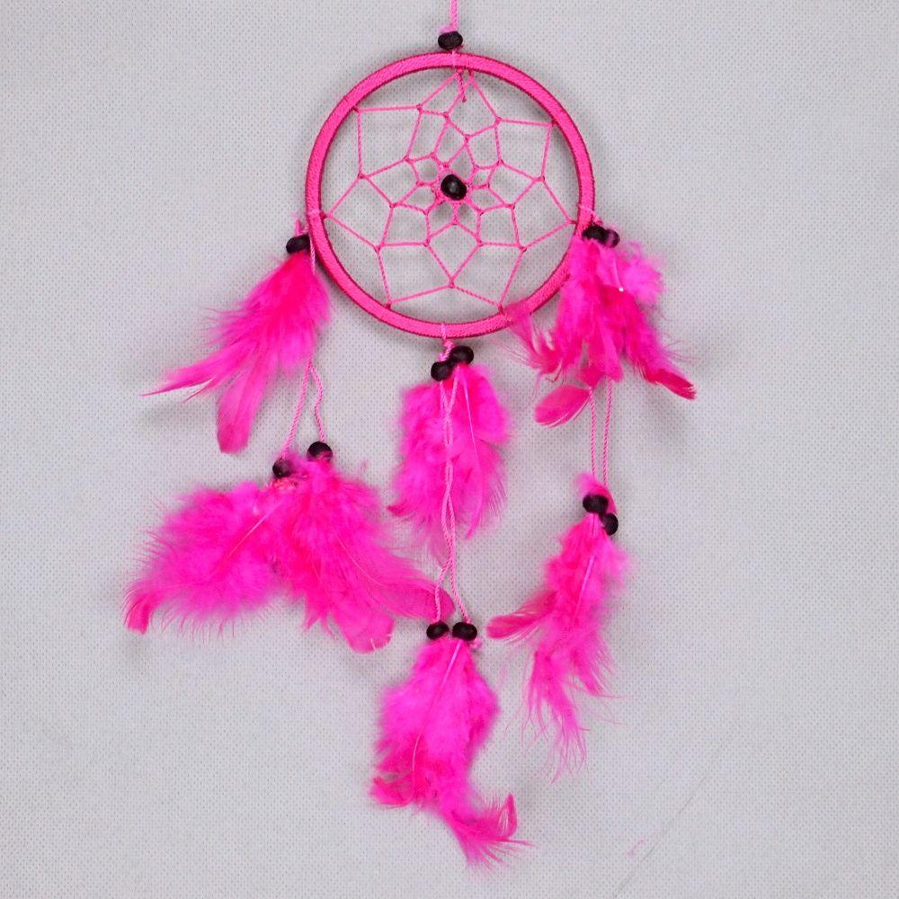 Lapač zlých snů 9 cm IV růžový