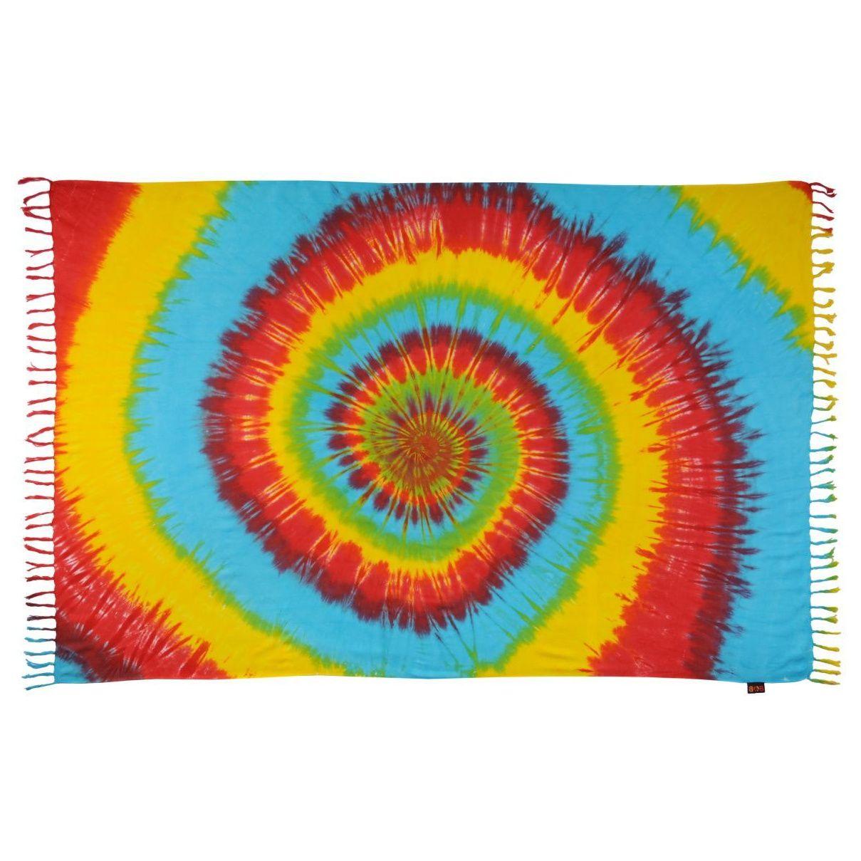 Šátek sarong, pareo BOB Batik Spirála jarní