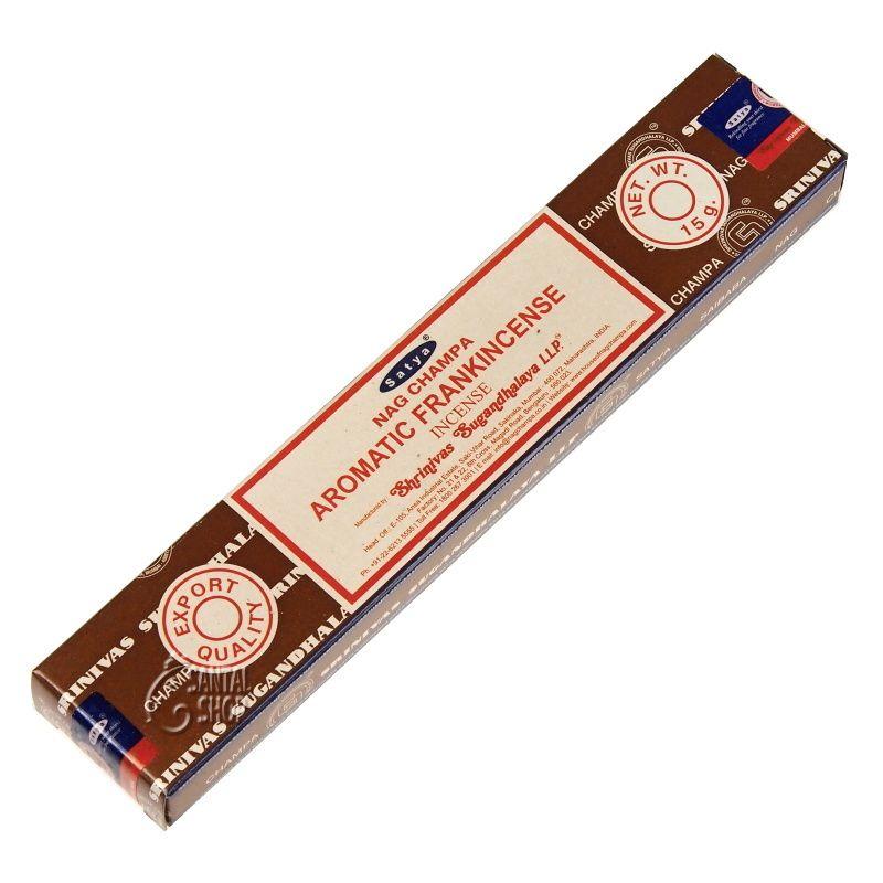 Satya Aromatic Frankincense indické vonné tyčinky 15 g