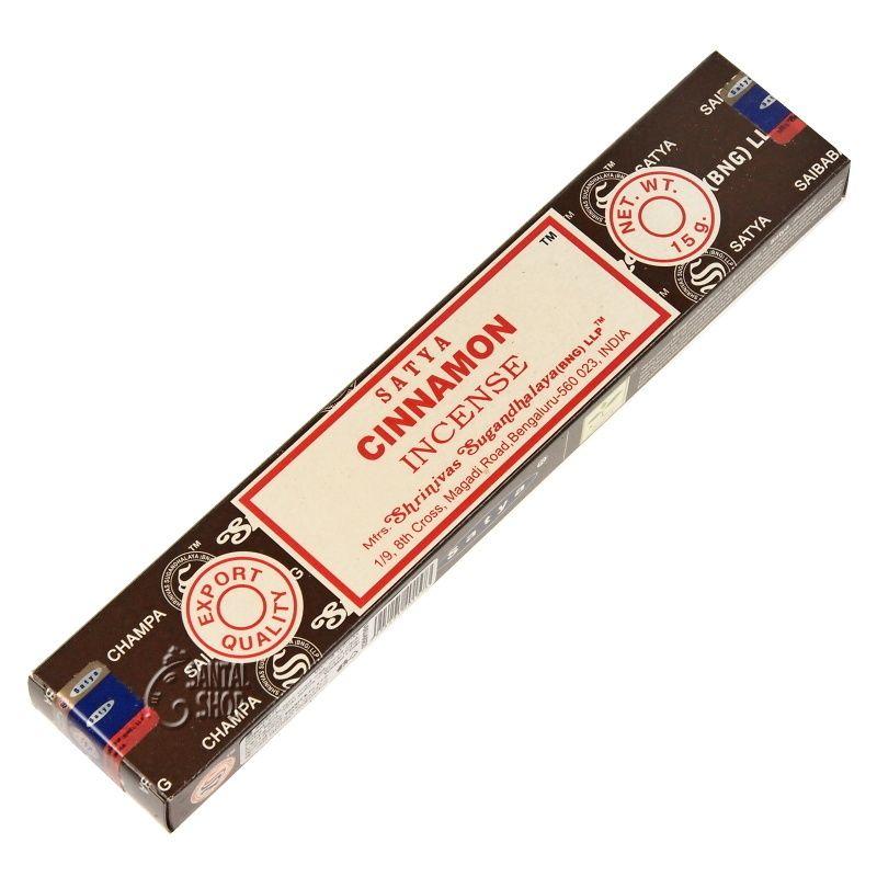 Satya Cinnamon indické vonné tyčinky 15 g