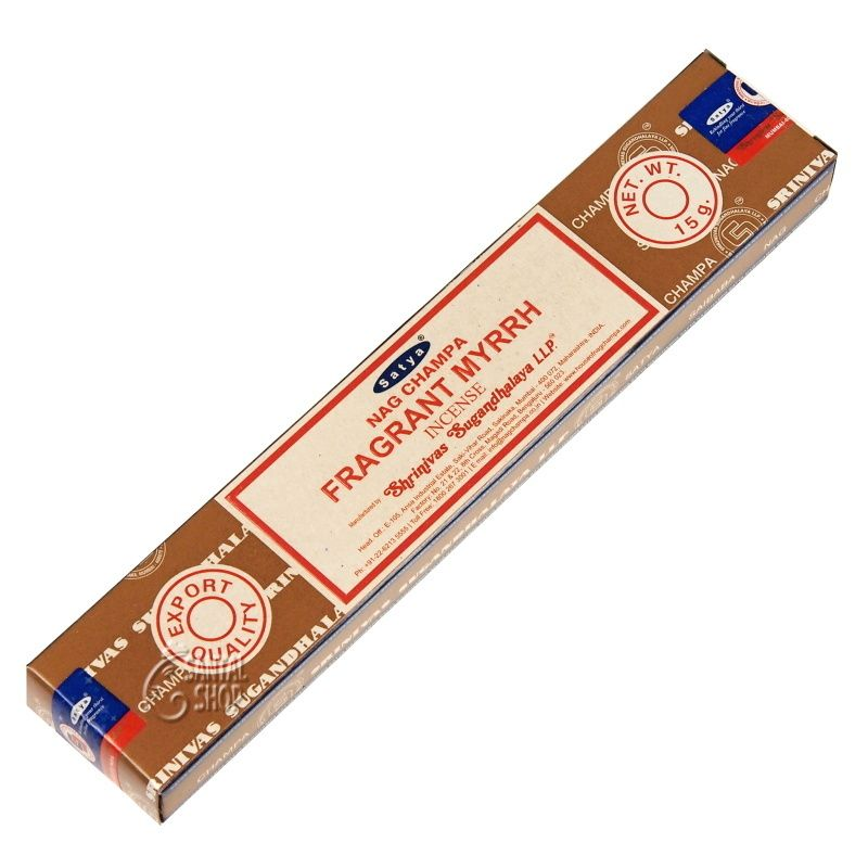 Satya Fragrant Myrrh indické vonné tyčinky 15 g