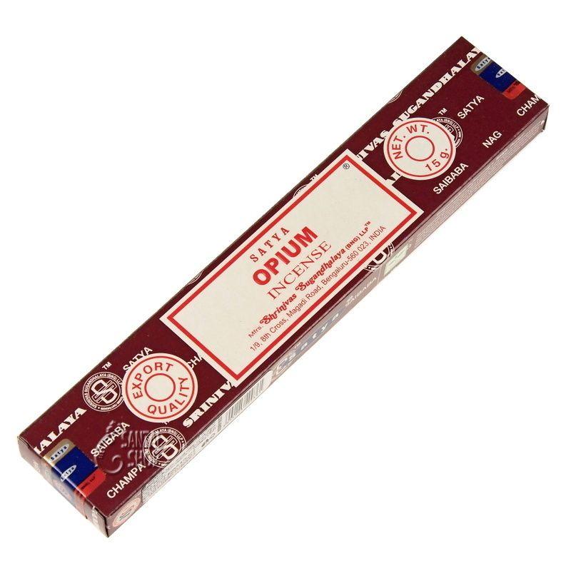 Satya Opium indické vonné tyčinky 15 g