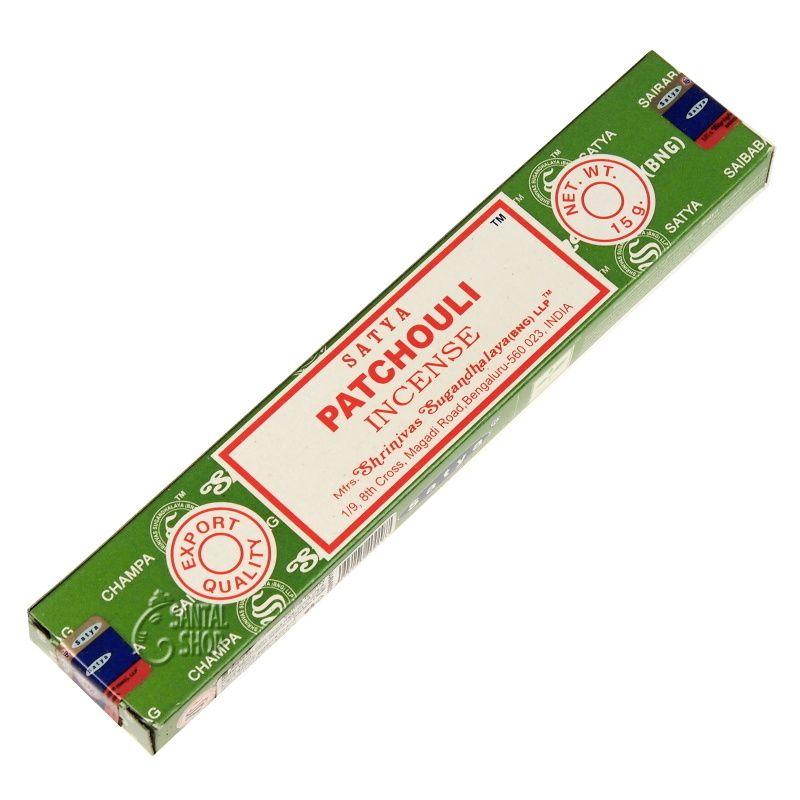 Satya Patchouli indické vonné tyčinky 15 g