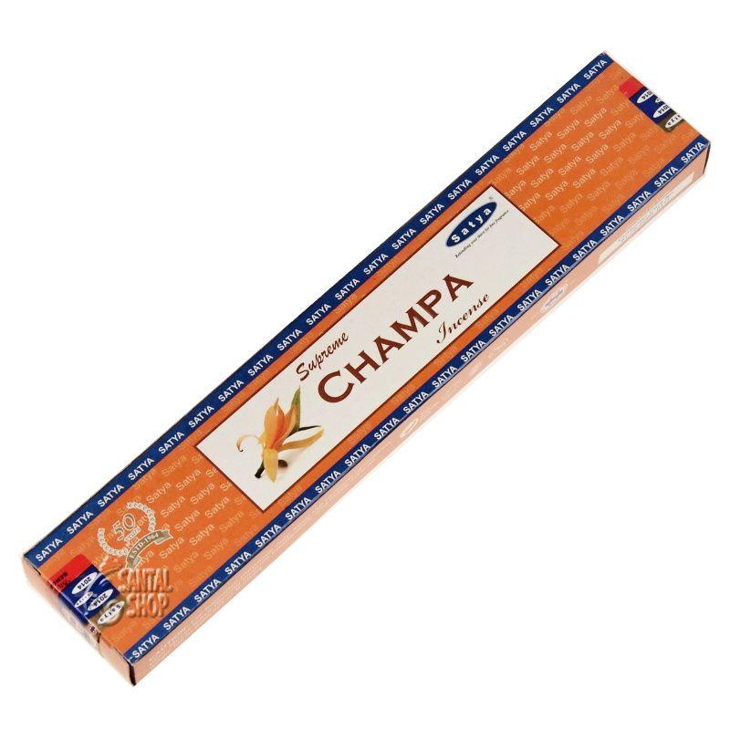 Satya Supreme Champa indické vonné tyčinky 15 g