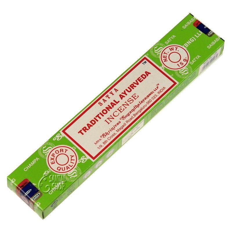 Satya Traditional Ayurveda indické vonné tyčinky 15 g