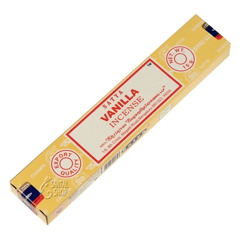 Satya Vanilla indické vonné tyčinky 15 g