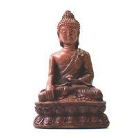 Soška Buddha resin hnědý 9 cm