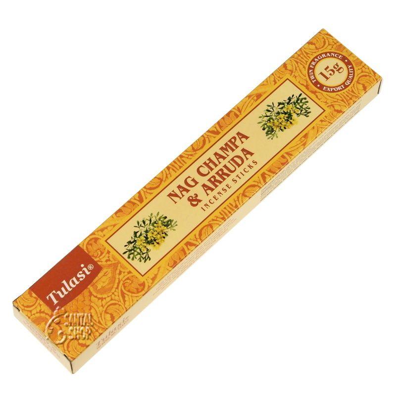 Tulasi Nag Champa Arruda - Routa vonná indické vonné tyčinky 15 g