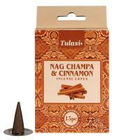 Vonné františky Tulasi Nag Champa Cinnamon