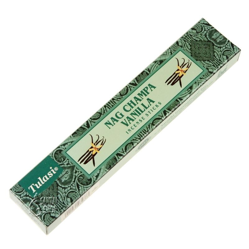 Tulasi Nag Champa Vanilla indické vonné tyčinky 15 g