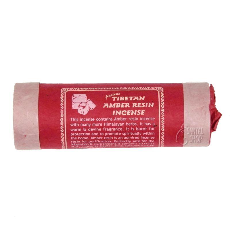 Ancient Amber resin tibetské vonné tyčinky 30 ks