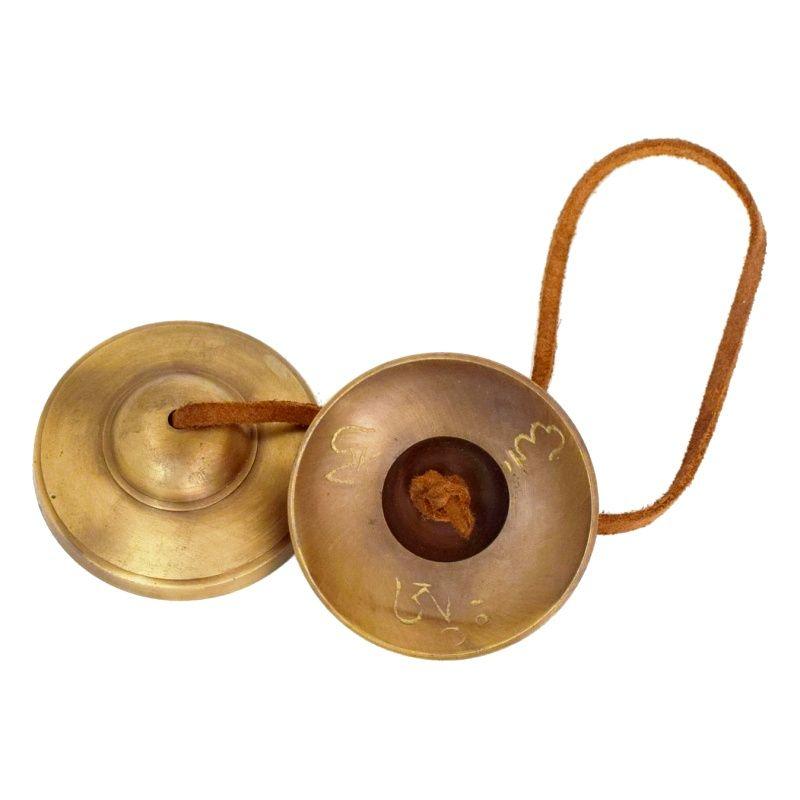 Tibetské činely kartálky ting-sha 8,5 cm