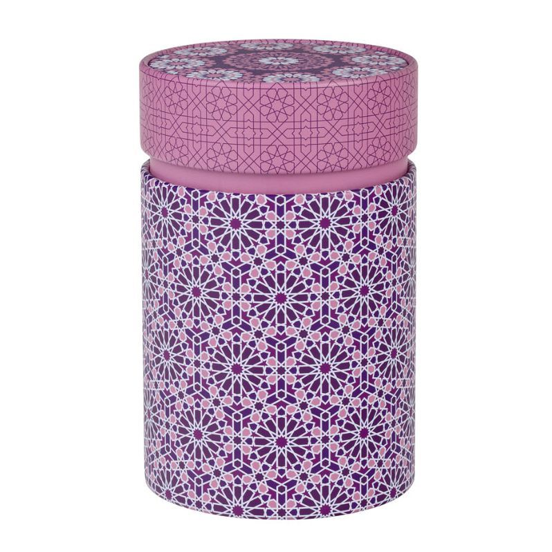 Dóza na čaj Andalusia růžová 150 g plechová
