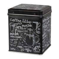 Dóza na kávu Macchiato 100 g hranatá