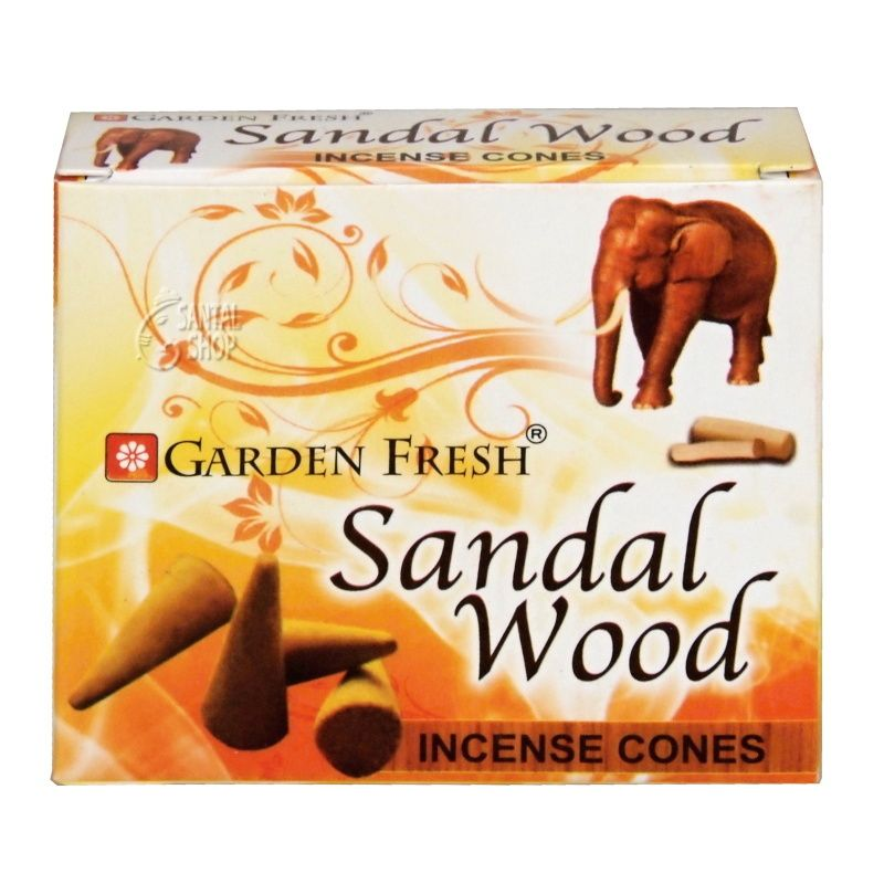 Garden Fresh Sandal Wood indické vonné františky 20 ks
