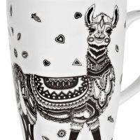 Hrnek Lama 600 ml porcelánový