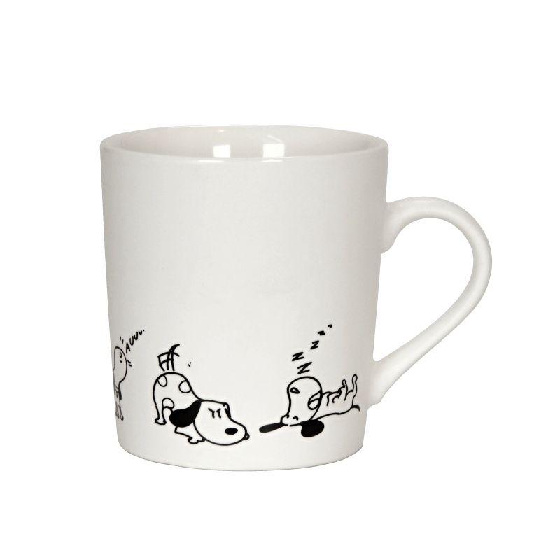 Hrnek Pes 280 ml bílý porcelánový