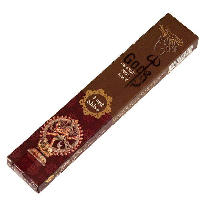 Misbah Lord Shiva indické vonné tyčinky 15 ks