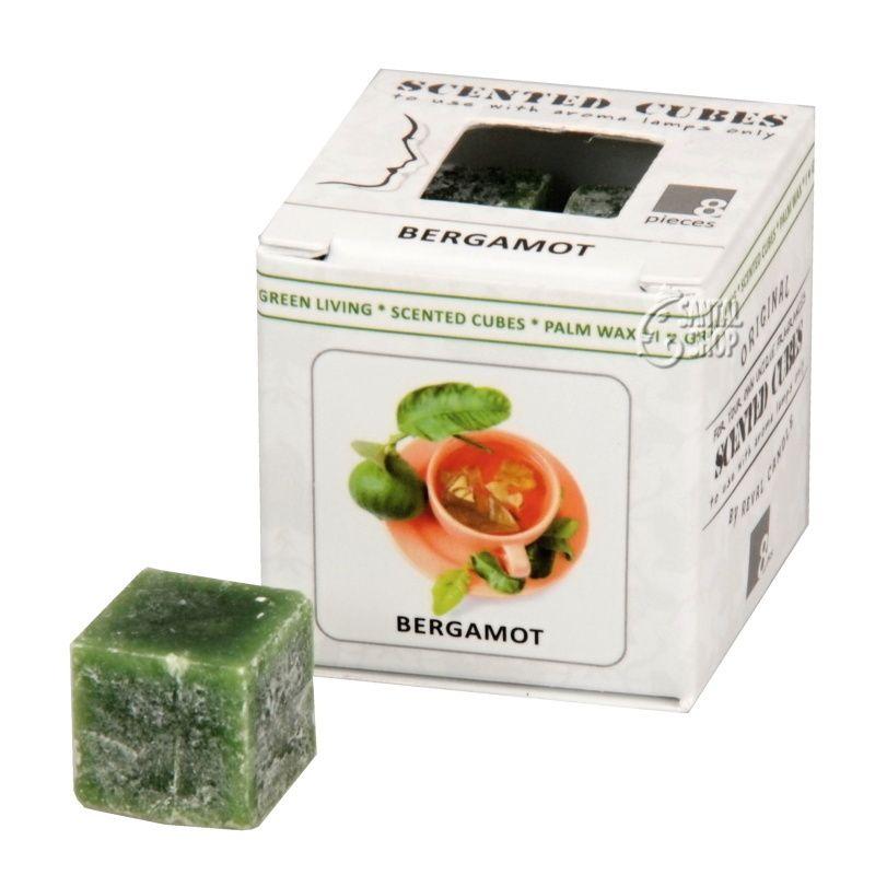 Scented cubes vonný vosk Bergamot