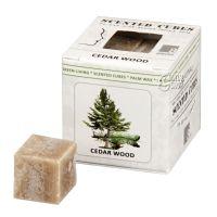 Scented cubes vonný vosk Cedar wood