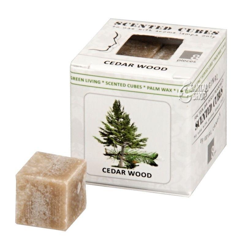 Scented cubes vonný vosk Cedar wood (cedr)