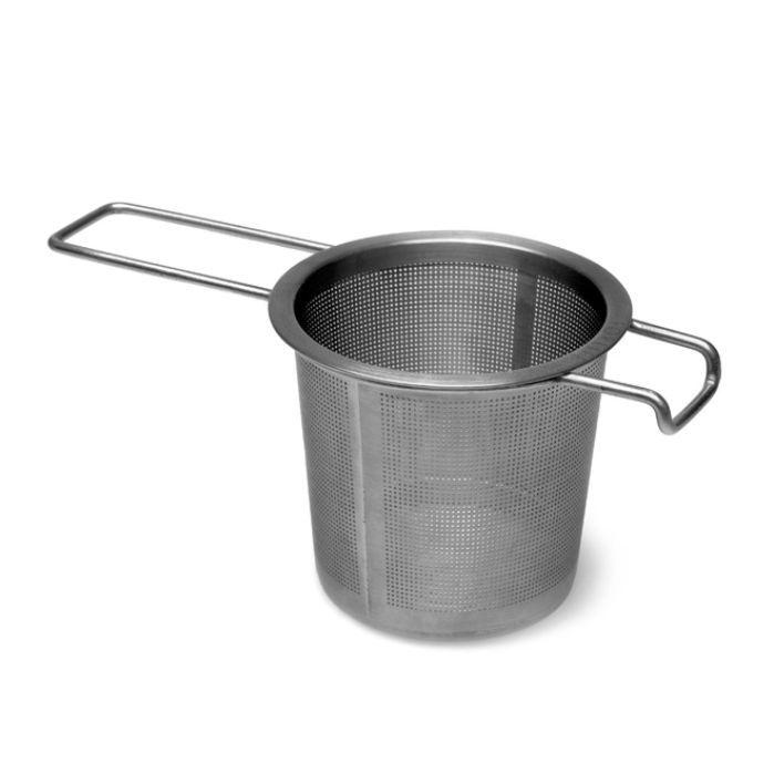 Sítko na čaj s držákem 6,5 cm nerez