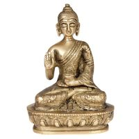 Soška Buddha kov 13,5 cm II