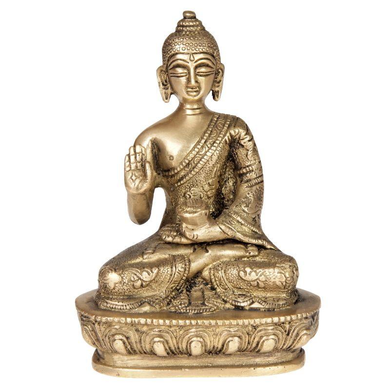 Soška kovová Buddha 13,5 cm II