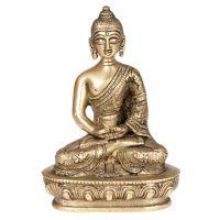 Soška Buddha kov 13,5 cm III