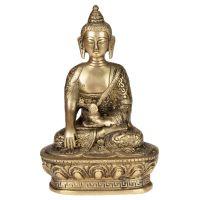 Soška Buddha kov 17,5 cm