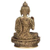 Soška kovová Buddha 19,5 cm
