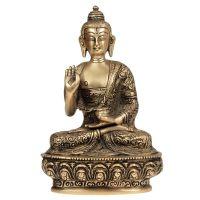 Soška Buddha kov 19,5 cm