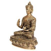Soška kovová Buddha 23 cm