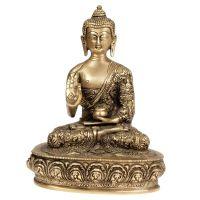 Soška Buddha kov 23 cm