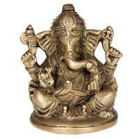 Soška Ganesh kov 10 cm II
