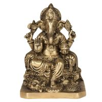 Soška Ganesh kov 17 cm