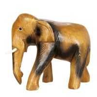 Soška Slon dřevo 16,5 cm
