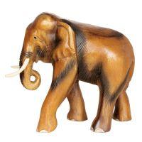 Soška Slon dřevo 27 cm