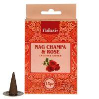Vonné františky Tulasi Nag Champa Rose