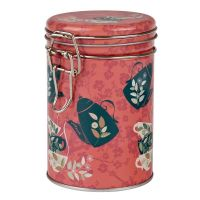Dóza na čaj Čajová siesta 200 g plechová s klipem