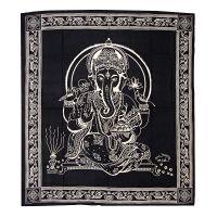 Přehoz Ganesh černý 220 x 210 cm