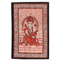 Přehoz Ganesh červený 210 x 140 cm