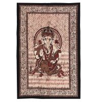 Přehoz Ganesh vínový 210 x 140 cm