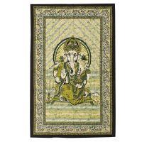 Přehoz Ganesh zelený 210 x 140 cm