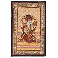 Přehoz Ganesh žlutý 210 x 140 cm