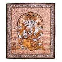 Přehoz Ganesh žlutý 220 x 210 cm