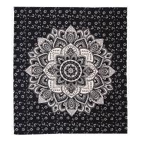 Přehoz Lotus Dream černý 220 x 210 cm