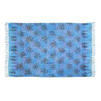 Šátek sarong Liány tyrkysový