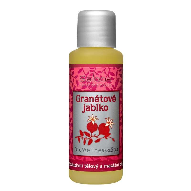 Saloos tělový wellness olej Granátové jablko 50 ml